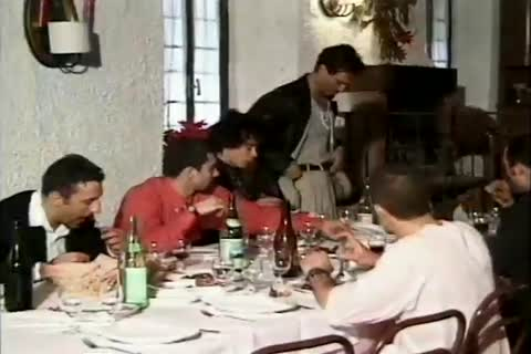 group Of boyz Share Meal And Then Their man dick