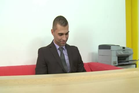 Job Interview (Straight banged And cum Face)