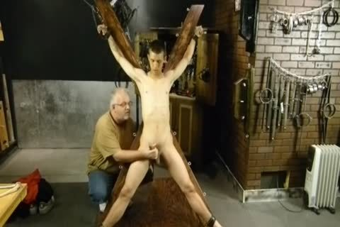 sadomasochism thraldom gay lad Is Whipped And Milked