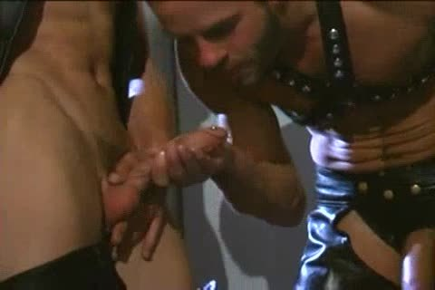 Double D-lights Leather orgy