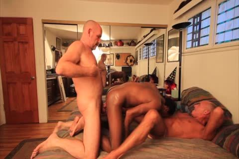 I acquire Tag Teamed drilled By Two big cock Daddies