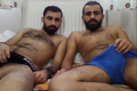 straight Turkish allies On cam