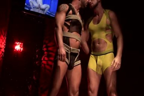 Francois Sagat And Hunter Marx Rubber poke