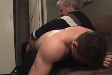 Hunk With Bubble a-hole receives A spanking