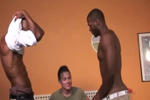 young White teen Getting gangbanged By black dudes