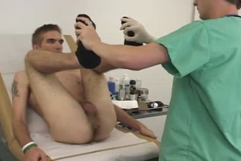 His wazoo gets Finger banged To Check His Prostate