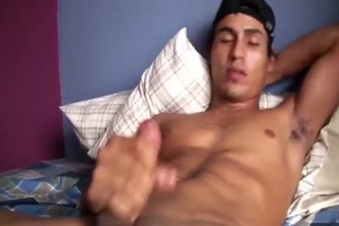homosexual guy loves To Play With His big penis On webcam