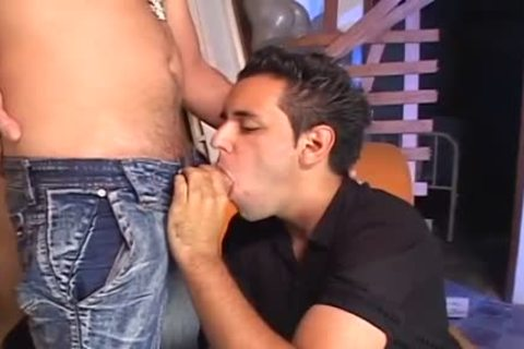 RICCO PUENTES IS pounding FAGS raw three - Scene two