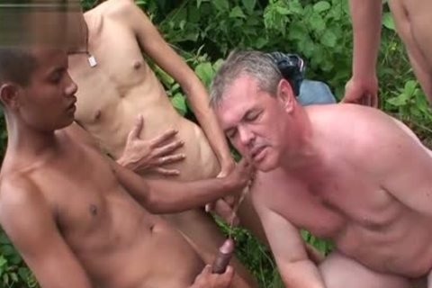 asian Son piss With cum flow