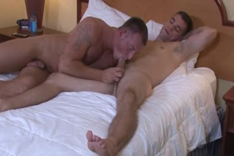 Muscle homosexual anal sex With spunk flow