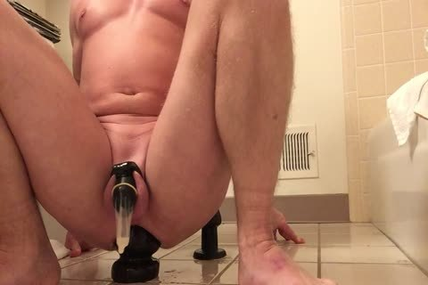 Milking And Stretching With A big toy!
