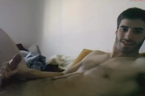 large Cocked Exhibitionist stroking His Megadick