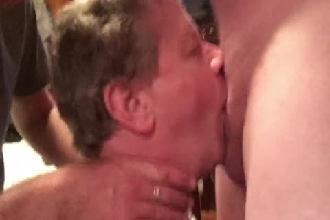 2 Hung dudes Skull-pound This Fag Then Bukkake The cock-sucker's Face