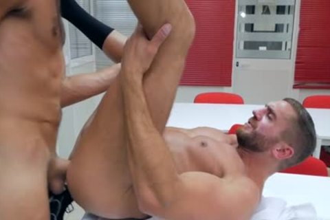 Muscle homosexual butthole job With penis juice flow