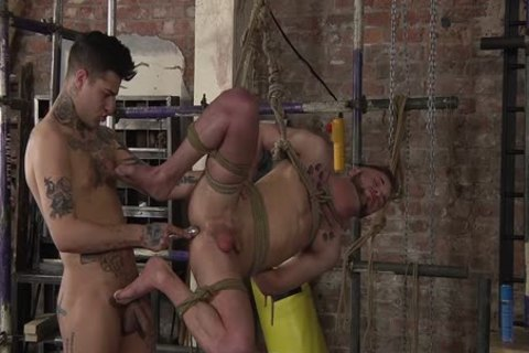 young homo Koby Lewis bound And nailed Hard By Mickey Taylor