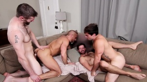 The In-Laws - Dirk Caber, Dennis West butthole nail