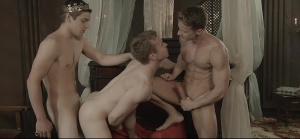 homosexual Of Thrones - Johnny Rapid with Gabriel Cross anal poke
