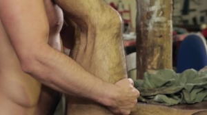 Forbidden - Paddy O'Brian and Tony Milan butthole Nail
