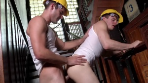 Daddy's Workplace - Cameron Kincade & Matthew Ryder butthole Hump