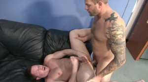 ball cream Bank - Colby Jansen with Travis James butthole Hump