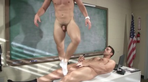 Hazing Bust - Rocco Reed & Joey Cooper ass Nail