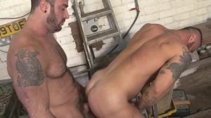 Late For Work - Spencer Reed and Alex Marte butthole bang