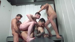Snap! - Pierre Fitch & Jordan Fox pooper Hook up