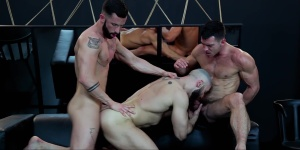 Dream Fucker - Francois Sagat with Paddy O'Brian butthole Hump