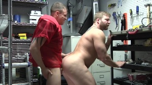 Janitor's Closet - Colby Jansen with Darin Silvers ass sex