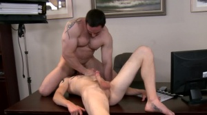 receive This On Film - Ryan Evans & Cole Brooks anal slam