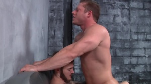 First Time Bottom - Christian Wilde with Joey Carter ass dril