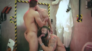 The End - Dato Foland and Paddy O'Brian butthole screw
