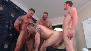 Scrum - Colby Jansen with Connor Maguire anal screw