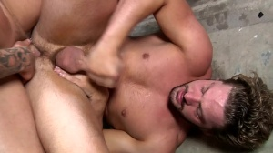 Fire Drill - Sebastian young with Andrew Blue butthole job
