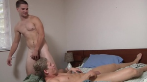 Blocking The Roommate - Jimmy Johnson & Brett Carter butt invasion