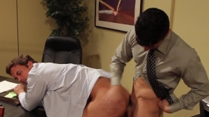 Entry Level - Rocco Reed and Lance Luciano ass poke