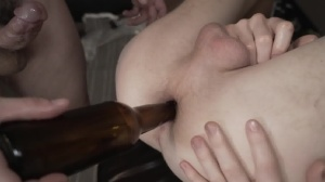 Bottle That anal - penis juice Action