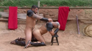 Sacred group Of Thebes - Francois Sagat, Ryan hammers pooper hammer