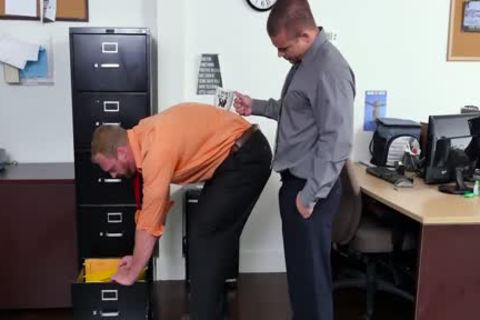 GRAB ass - new Employee acquires Broken In By The Boss, Adam Bryant