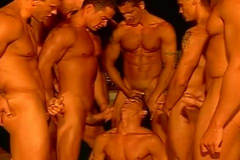 powerful orgies With muscular Tanned Hunks