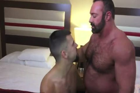 Josh Stone And big Daddy Bear Brad Kalvo