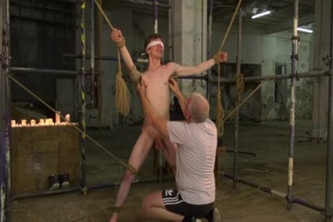 Sub twink Alex Faux tied Up And Sucked Off By Sebastian Kane