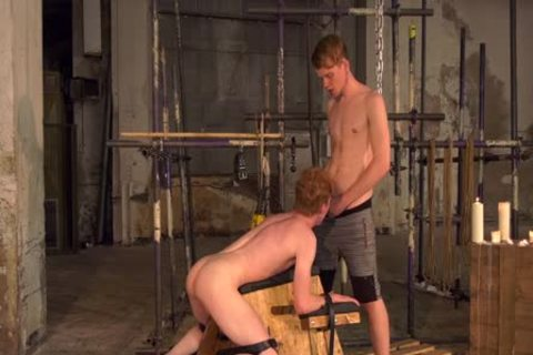 Skinny submissive twink sadomasochism Dominated By His rough corporalist