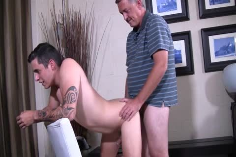 Silver Daddy nail horny young