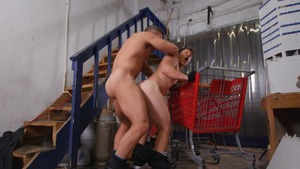 Patted Down Hard: raw - Alex Mecum American nail