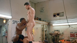 Tom Of Finland: Service Station: raw - Ricky Roman, River Wilson American Hook up