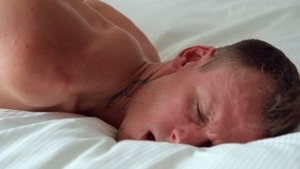 DrillMyHole: William Seed bondage in the bed