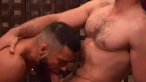 Gods Of Men: Sucking cock escorted by athletic Diego Reyes
