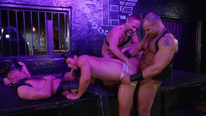 Tom Of Finland: Leather Bar Initiation - Dirk Caber & Kurtis Wolfe American nail
