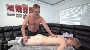 FamilyDick.com: Kristofer Weston aggressive massage sex scene